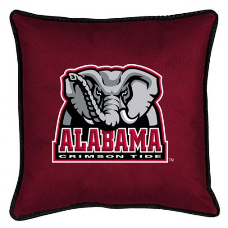 "Alabama Crimson Tide Toss Pillow - 18"" X 18"" Sideline Toss Pillow"