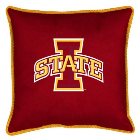 "Iowa State Cyclones Toss Pillow - 18"" X 18"" Sideline Toss Pillow"