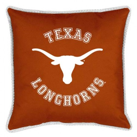 "Texas Longhorns Toss Pillow - 18"" X 18"" Sideline Toss Pillow"