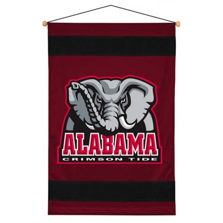 Alabama Crimson Tide Sideline Wall Hanging - 28 X 45