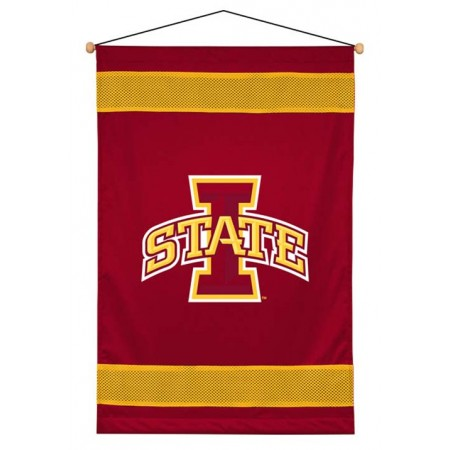 Iowa State Cyclones Sideline Wall Hanging - 28 X 45