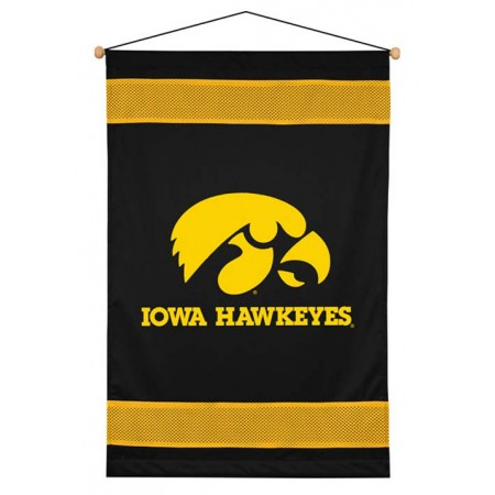 Iowa Hawkeyes Sideline Wall Hanging - 28 X 45