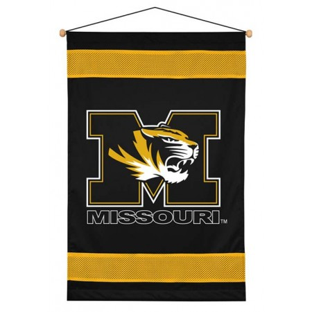 Missouri Tigers Sideline Wall Hanging - 28 X 45