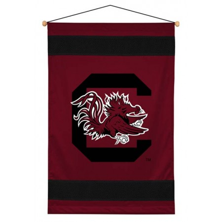 South Carolina Gamecocks Sideline Wall Hanging - 28 X 45