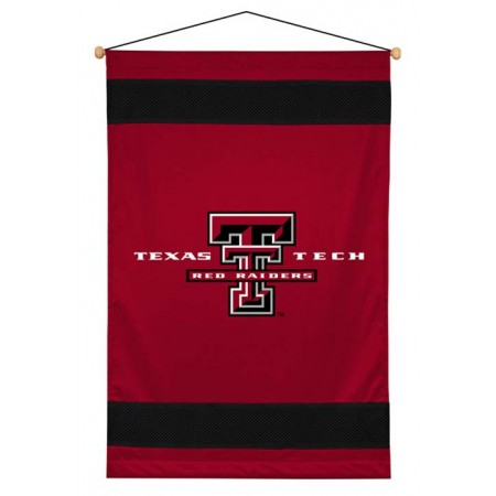 Texas Tech Red Raiders Sideline Wall Hanging - 28 X 45