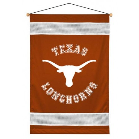 Texas Longhorns Sideline Wall Hanging - 28 X 45