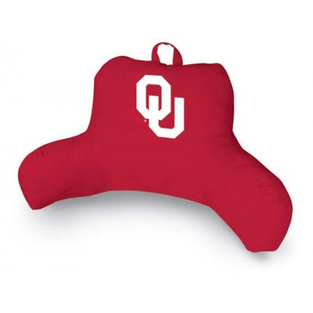 Oklahoma Sooners MVP Bedrest Pillow