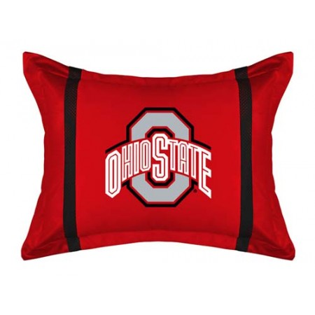Ohio State Buckeyes MVP Pillow Sham