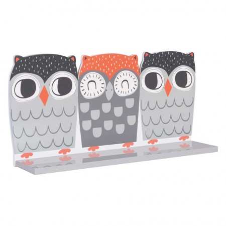 Olive Owl Wall Shelf