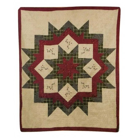 Morning Star Throw Size Quilt