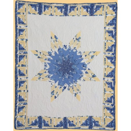 Laura Mae Throw Size Quilt