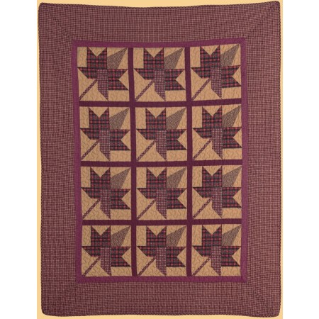 Maple Ridge Throw Size Quilt