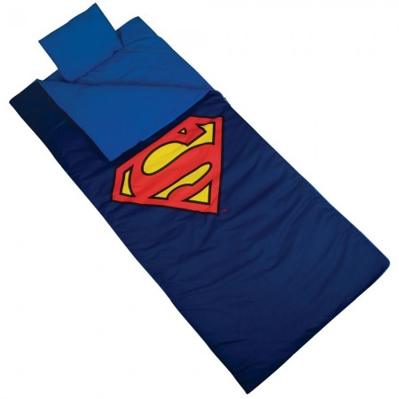 Superman Sleeping Bag by Olive Kids