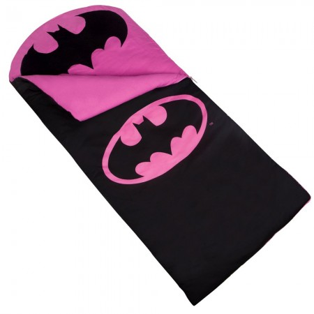 Batman Sleeping Bag by Olive Kids for Girls