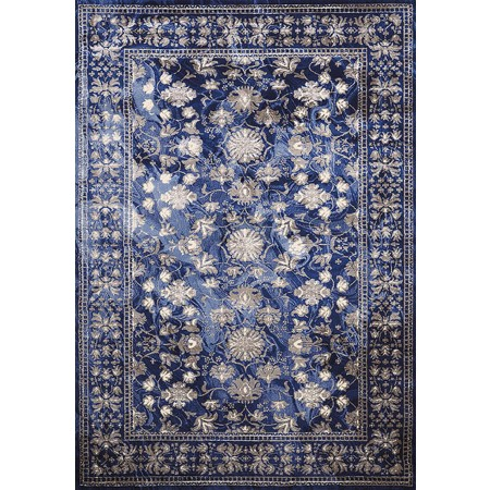 AUSTRALIS MIDNIGHT Area Rug - Transitional Style