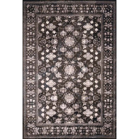 AUSTRALIS DARK TAUPE Area Rug - Transitional Style