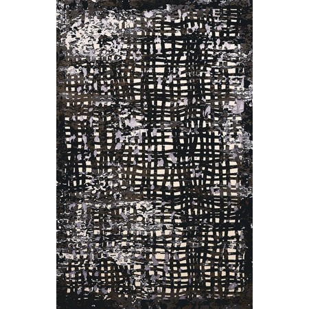 SPOTLIGHT BLACK Area Rug - Transitional Style