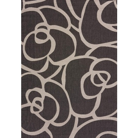 Veranda Silver Area Rug - Transitional Style