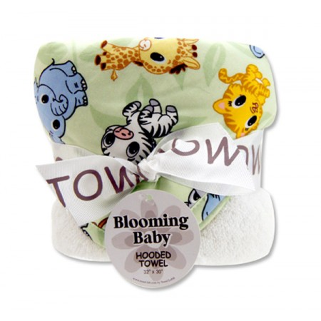 Bouquet Hooded Towel - Chibi Zoo