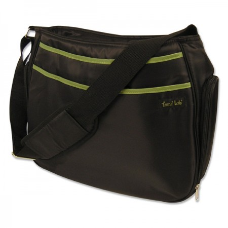 Diaper Bag - Hobo Black/Avocado