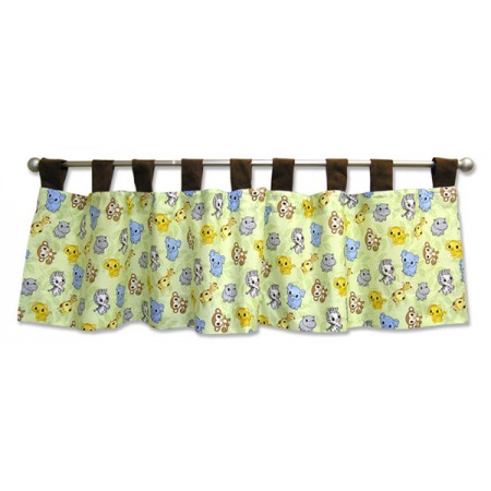 Chibi Zoo - Window Valance