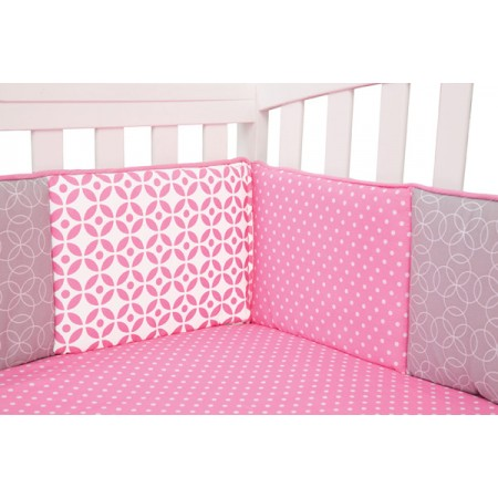 LILY - CRIB BUMPERS