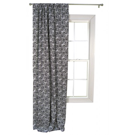 Black And White Zebra -Window Drape