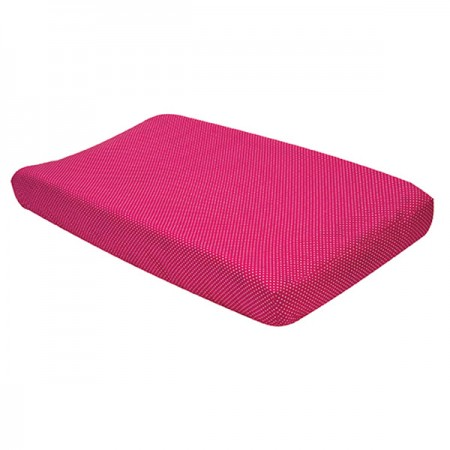 Changing Pad Cover - Pink And White Dot