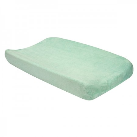 Changing Pad Cover - Cocoa Mint
