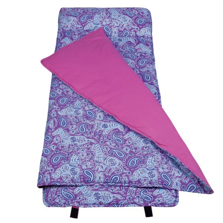 Watercolor Ponies Purple Original Nap Mats by Olive Kids