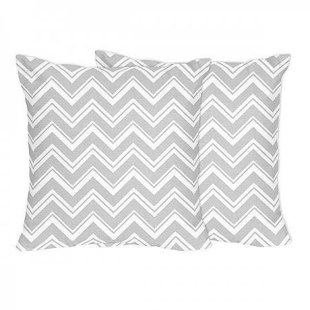 Zig Zag Accent Pillows - Set of 2