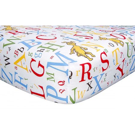 Dr Seuss Abc Crib Sheet