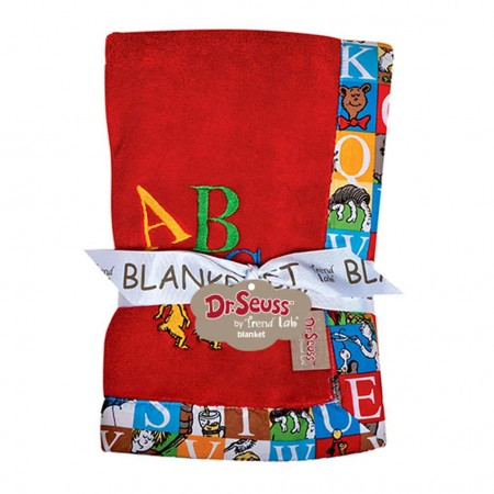 Dr. Seuss Alphabet Seuss Receiving Blanket