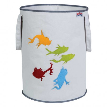 Dr. Seuss One Fish, Two Fish Storage Tote