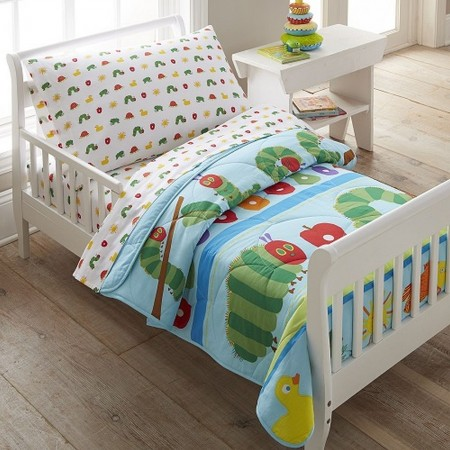 The Very Hungry Caterpillar Toddler Size Comforter