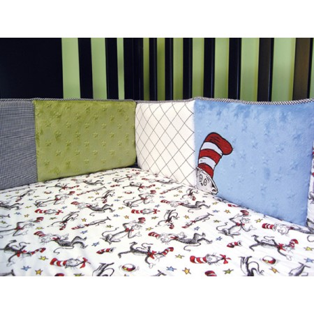 Dr Seuss Cat In The Hat - Bumper Set - 4 Piece