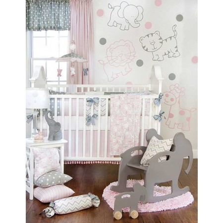 Bella & Friends 3 Piece Crib Set