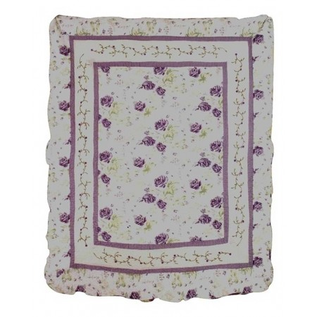 Plum Purple Throw Size Quilt