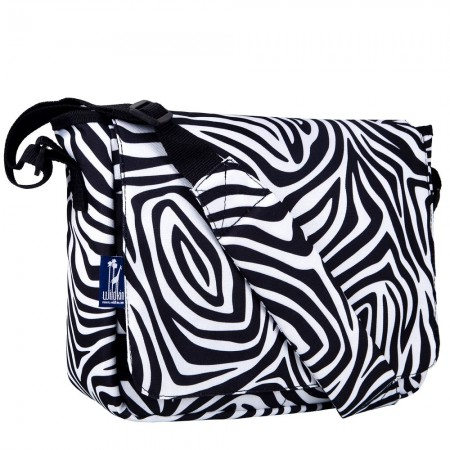 Zebra Kickstart Messenger Bag