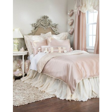 Glenna Jean Ribbons & Roses Duvet Cover - Twin Size - Clearance
