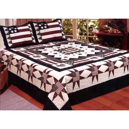 Great American Pillow Shams - Standard Size - Sold in Pairs