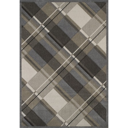 Journey Grey Area Rug - Contemporary Style