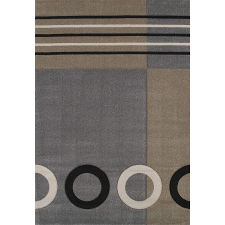 Tommy Grey Area Rug - Contemporary Style