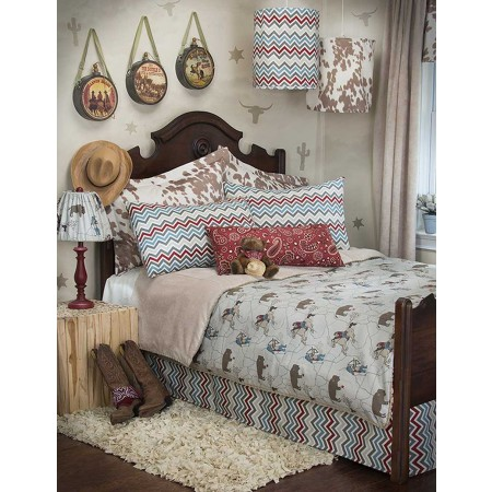 Happy Trails Duvet Cover by Sweet Potato