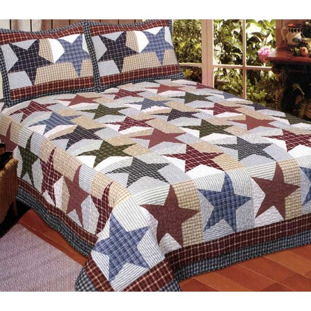 Nicholas Quilt Set - King Size - Includes 2 Pillow Shams