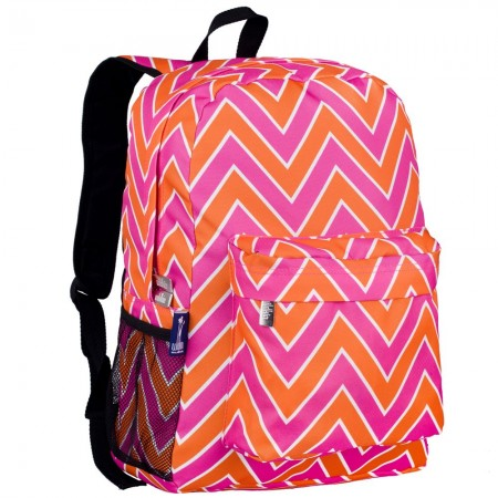 Zigzag Pink Crackerjack Backpack