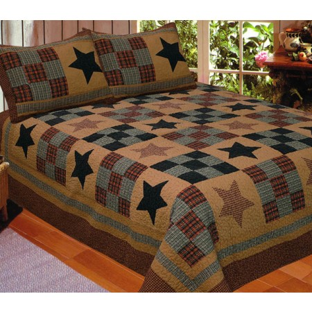 Prairie Star Quilt - Full/Queen Size