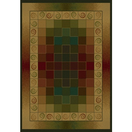 Montage Lodge Area Rug - Transitional Style