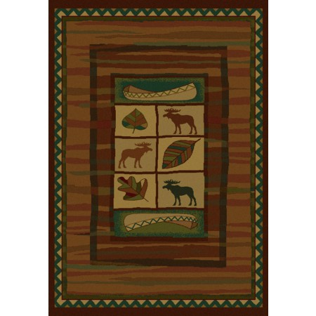 Highland Falls Area Rug - Cabin Style