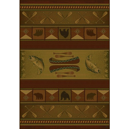 colorado lodge area rug cabin style - Rustic Area Rugs